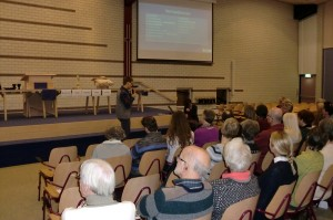 Presentatie in Dordrecht (Presentation in our home-church Dordrecht)